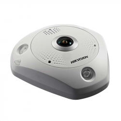 Hikvision DS-2CD63C5G0-IVS Fisheye Ultra HD 12MP PoE