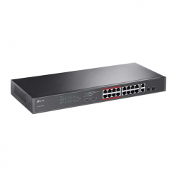 TP-Link TL-SL1218MP Switch PoE rackable 16 ports compatibles PoE+