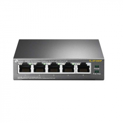 TL-SF1005P switch PoE 5 ports dont 4 ports PoE TP-Link