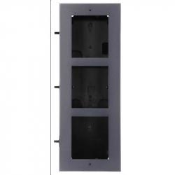 Hikvision DS-KD-ACF3 boîtier de montage encastré 3 emplacements