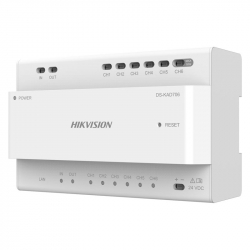 Hikvision DS-KAD706 distributeur IP 2 fils pour portier vidéo modulable 2 fils