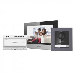 Hikvision DS-KIS702 kit interphone vidéo couleur 2 fils