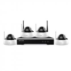 Hikvision NK44W1H-1T(WD) kit vidéosurveillance WIFI 4 caméras dôme 4MP H265+
