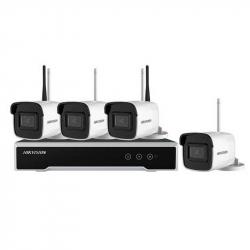Hikvision NK44W0H-1T(WD) kit vidéosurveillance sans fil WIFI 4 caméras tube 4MP H265+