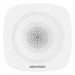 Sirène intérieure sans fil rouge 110 décibels Hikvision DS-PS1-I-WE