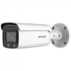 Hikvision DS-2CD2T47G2-L caméra IP 4MP H265+ ColorVu et acuSense 2.0 vision couleur de nuit 60 mètres