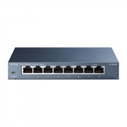 TP-Link TL-SG108 switch Gigabit 8 ports avec boîtier métal