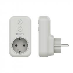 EZVIZ T31 Plus prise connectée Wi-Fi avec statistiques de consommation compatible assistants Google et Amazon