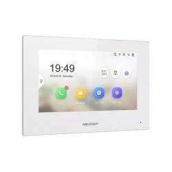 Hikvision DS-KH6320-WTE1-W écran de contrôle tactile WI-FI blanc pour interphone vidéo IP Hikvision DS-KD-XX