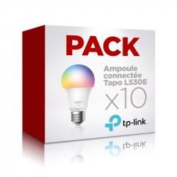 Pack 10 ampoules connectées multicolores TP-Link Tapo L530E