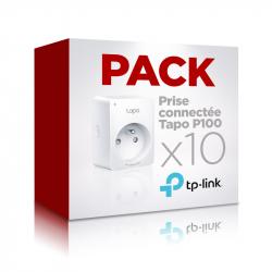 Pack 10 prises connectées Wi-Fi compatible assistants Google et Amazon TP-link Tapo P100