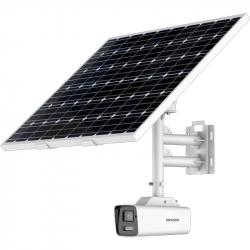 Hikvision DS-2XS6A87G1-L/C32S80 caméra 4K solaire sur batterie avec connexion 4G AcuSense et ColorVu