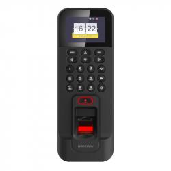 Hikvision DS-K1T804BMF terminal de contrôle d'accès par empreinte digitale + code + badge RFID